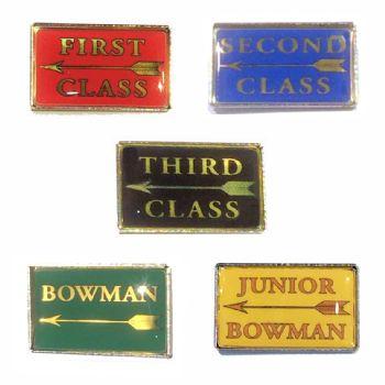 Archer Classification standard badge